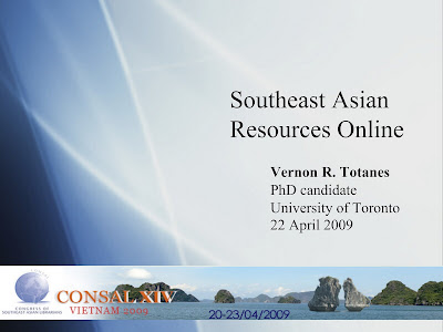 Southeast Asian Resources Online: Links