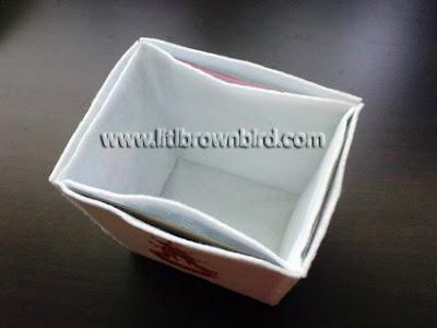 DSC08975 - Caixinha para comida japonesa em feltro