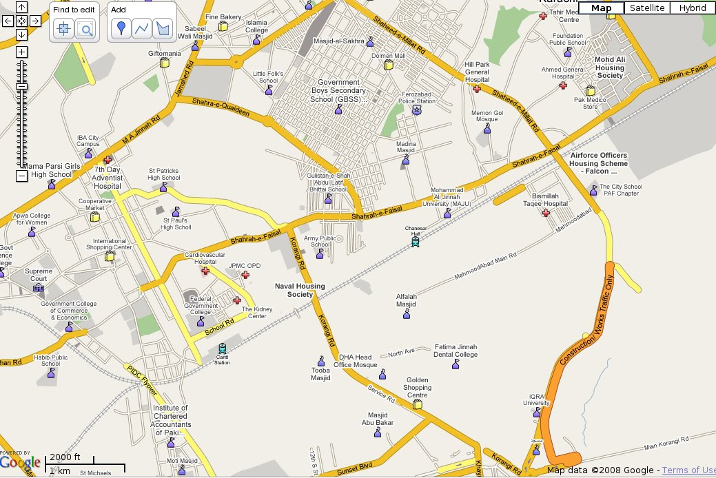 Volunteer Programmers Contribute To Google Maps For Pakistan