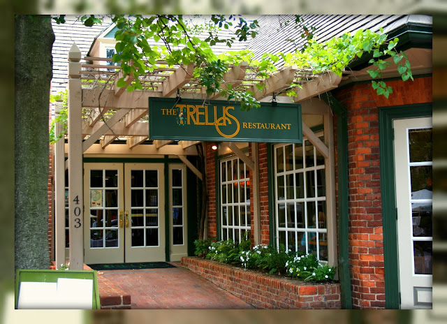 The Trellis Restaurant Of By Chocolate Fame Has Been A Draw In Colonial Williamsburg S Merchants Square For Thirty Years
