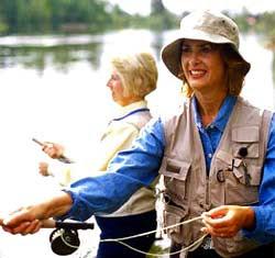 Fall Salmon Run on the Muskegon River, Newaygo Mi ~ She's So