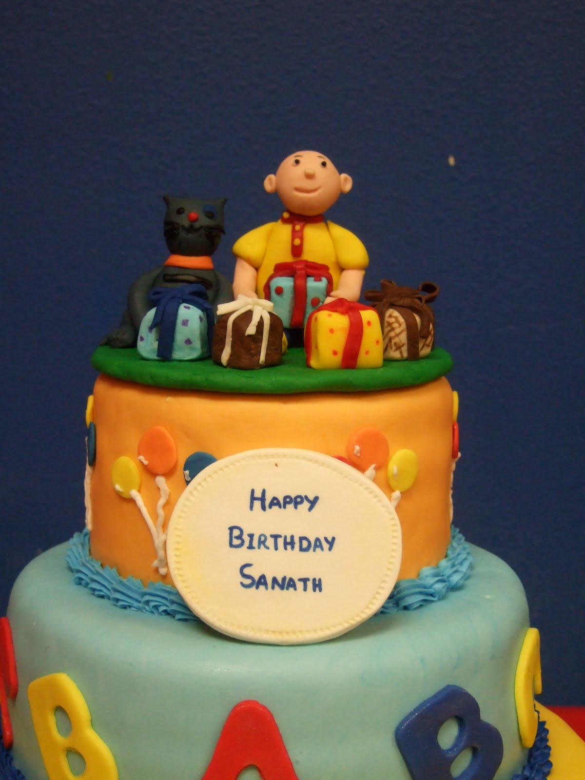 Caillou Birthday Cake Topper