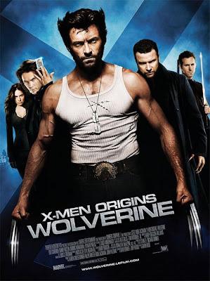 x men origins wolverine movie poster4 - Woilverine en azul