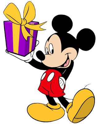Mickey Mouse Birthday Present - Mickey Mouse, un año más viejo ya!