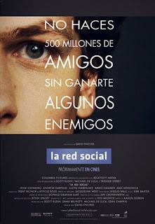 red social pos b - El top 10 de las películas de 2010, de IMDb's