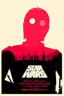 Olly Moss Star Wars - Póster de Star Wars, versión Olly Moss