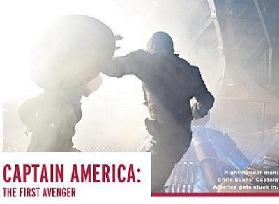 capescudo - Nuevas fotos de El Capitán América.