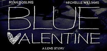 Blue%2BValentine%2BBanner - Póster en español de Triste San Valentín.
