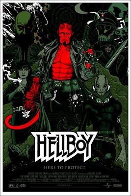 MondoHellboy - Posters de Hellboy, de la linea Mondo