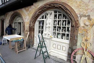 photo dominique gutekunst 6 - Fotos desde el set de Sherlock Holmes 2