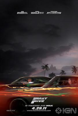 fast five 20110203005852715 - Primer poster de Rapidos y Furiosos 5in Control