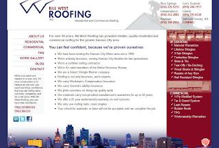 roofer website
