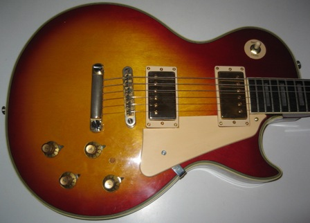 Rex And The Bass 1970s Ibanez Les Paul Custom Guitar