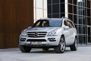 Greek Mercedes GL