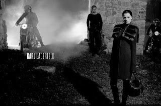 Karl Lagerfeld and Porsche Cayenne