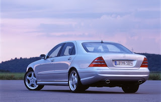 A rare Mercedes S Class, from 2001