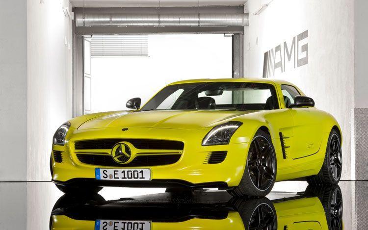 Mercedes-Benz SLS AMG E-Cell: Soundless sport car :( - Cars & Life