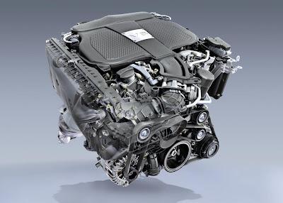 New Mercedes-Benz 3,5-lt Engine