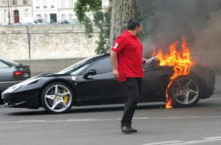 Feel the fire: Ferrari 458 Italia