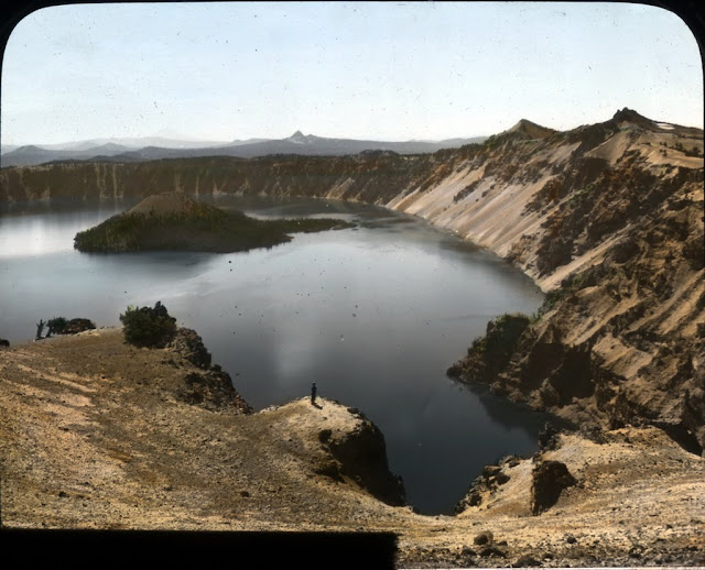 Image Title: Glacier Peak Original Format: Lantern slides Original Collection: Visual Instruction Department Lantern Slides. photography-news.com, Photography News, Diana Topan, Crater Lake, Oregon photos, landscape photography