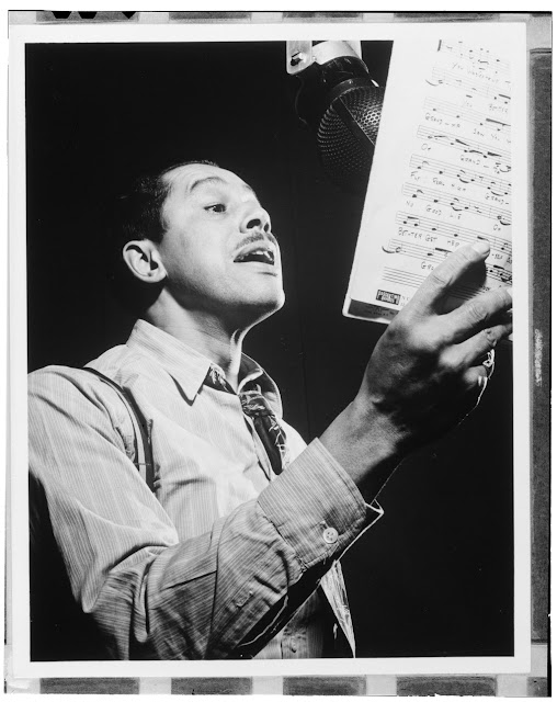 Portrait of Cab Calloway, Columbia studio, New York, N.Y., ca. Mar. 1947. William P. Gottlieb Collection (Library of Congress)