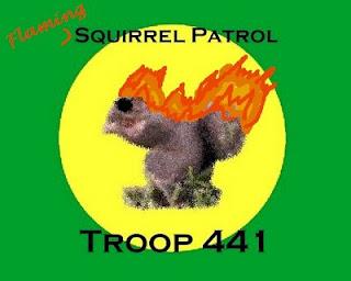 Kerk S Ramblings The Squirrel Patrol Flags