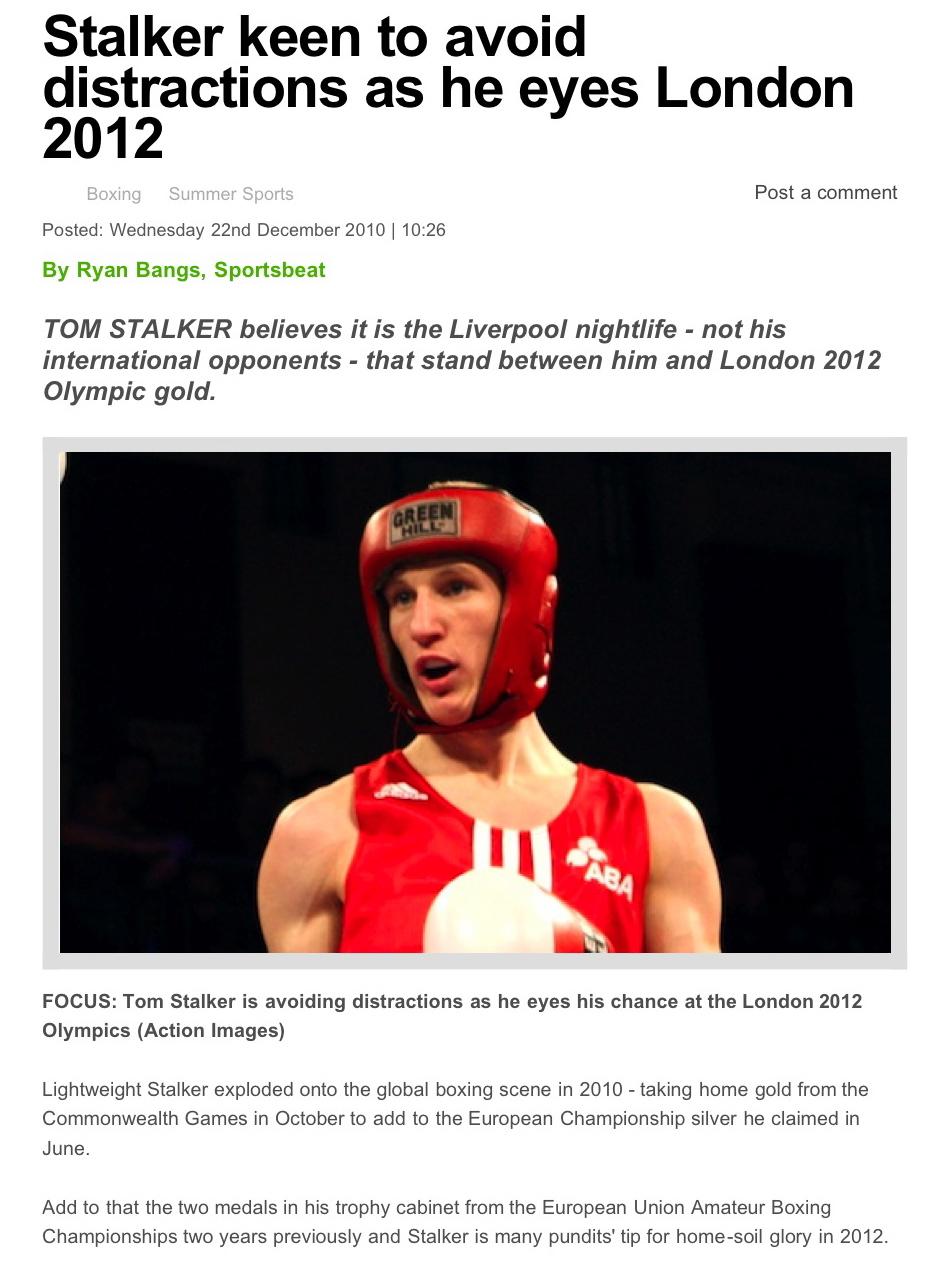 BRIAN ZELLEY Boxing buzz: December 2010