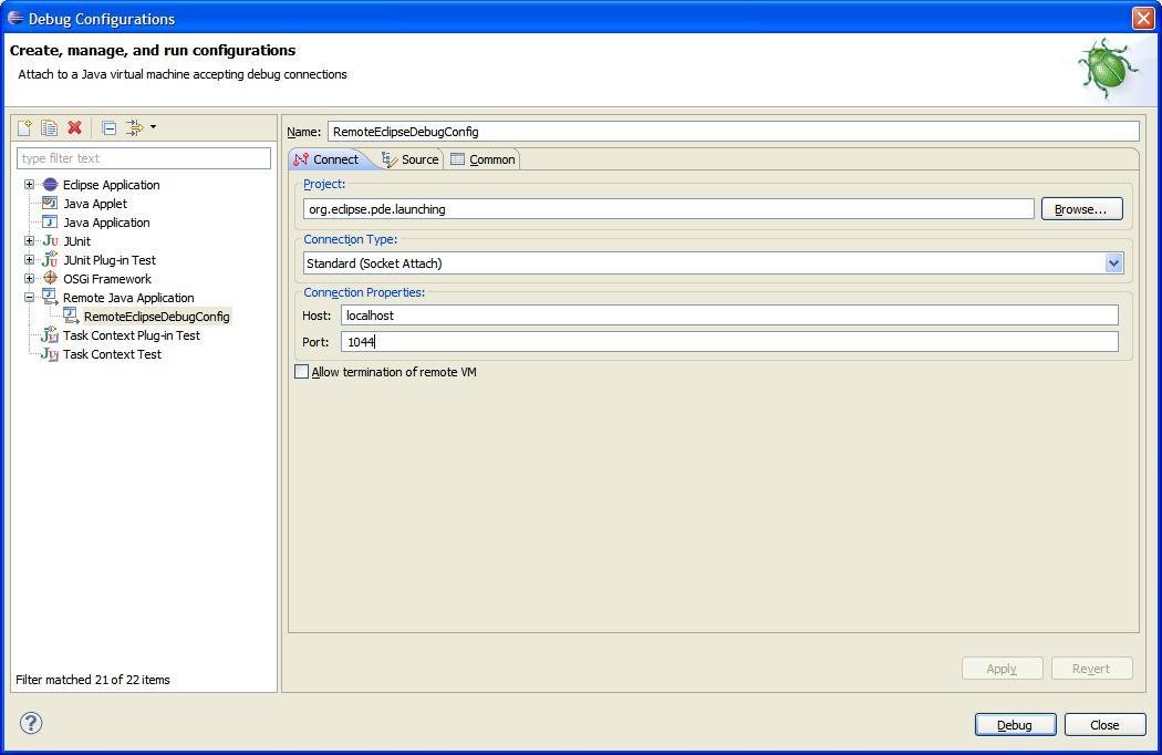 Remote Debugging Eclipse - DZone Java