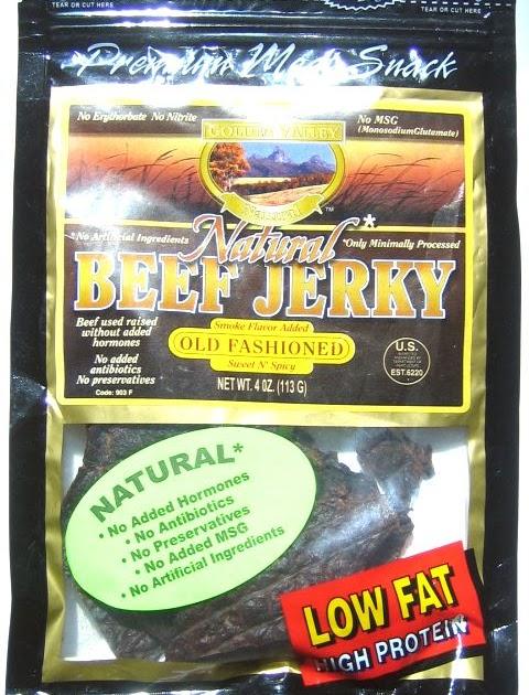 Golden Valley Natural Sweet Amp Spicy Beef Beef Jerky