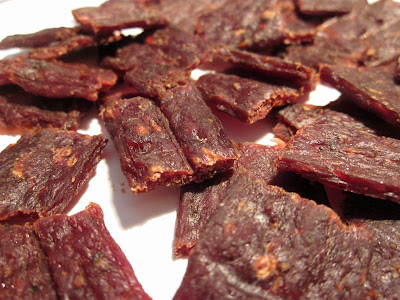 chopped and formed beef jerky