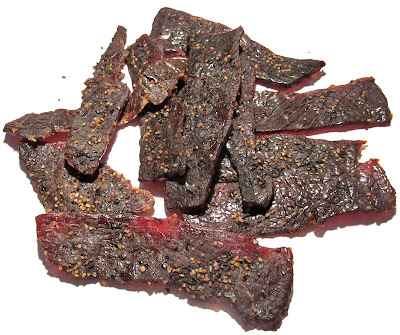 black pepper teriyaki beef jerky