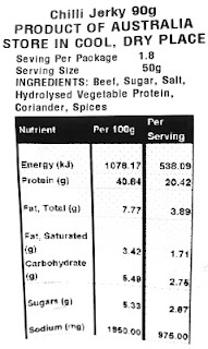 jims jerky nutrition facts