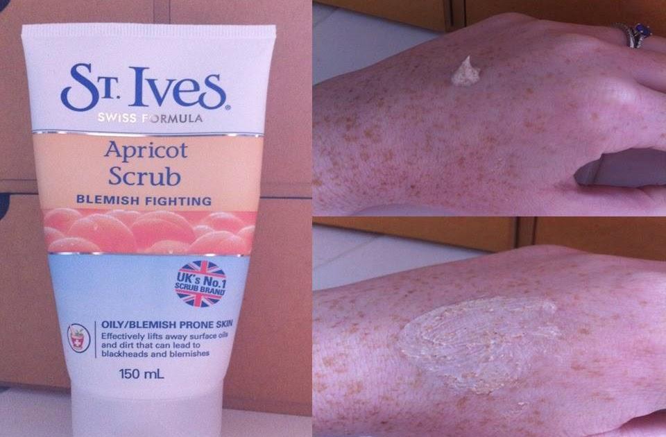 St Ives Invigorating Scrub