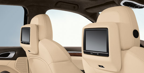 Porsche cayenne rear seat entertainment