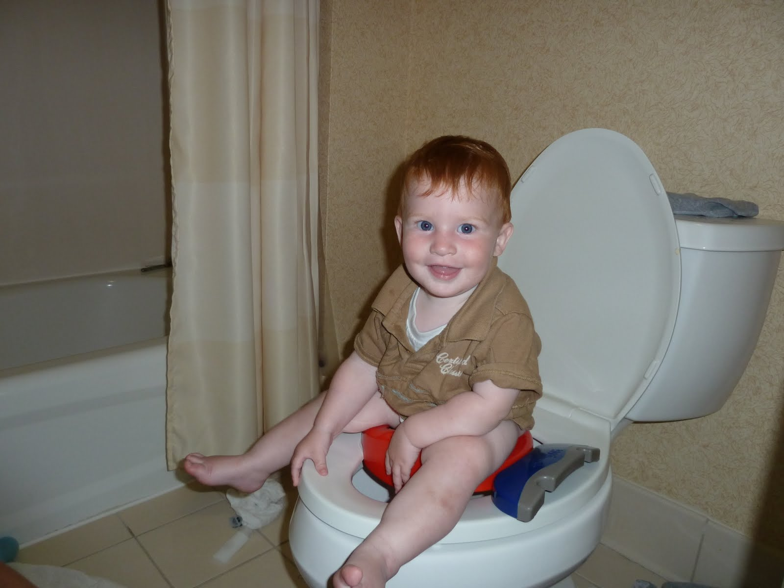 Boys Potty Chair A Day In The Life Of A Globe Trotter Big Boy Potty