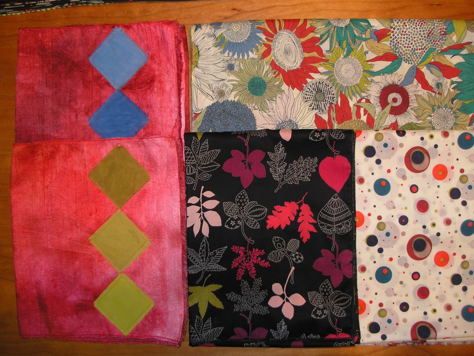 Quilt Stories: Making scarves