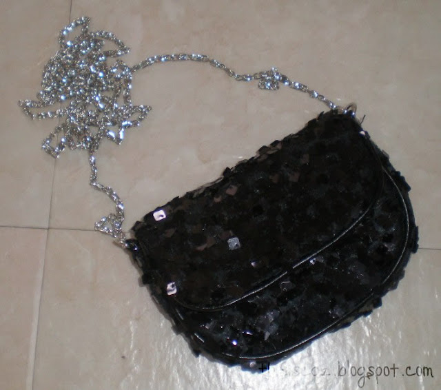 H&M sequin bag