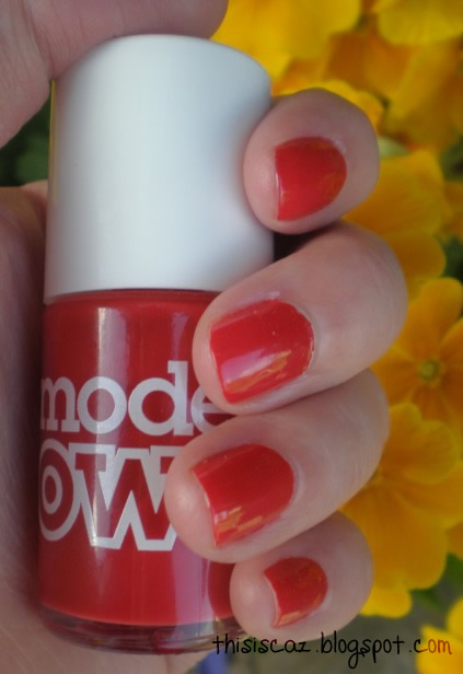 Models Own Red Alert nail polish