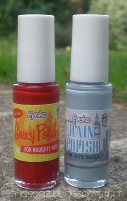 Eyeko saucy nail polish