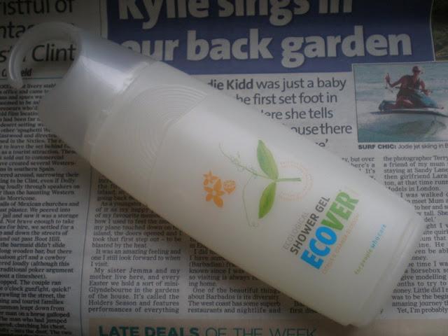 Eco friendly shower gel