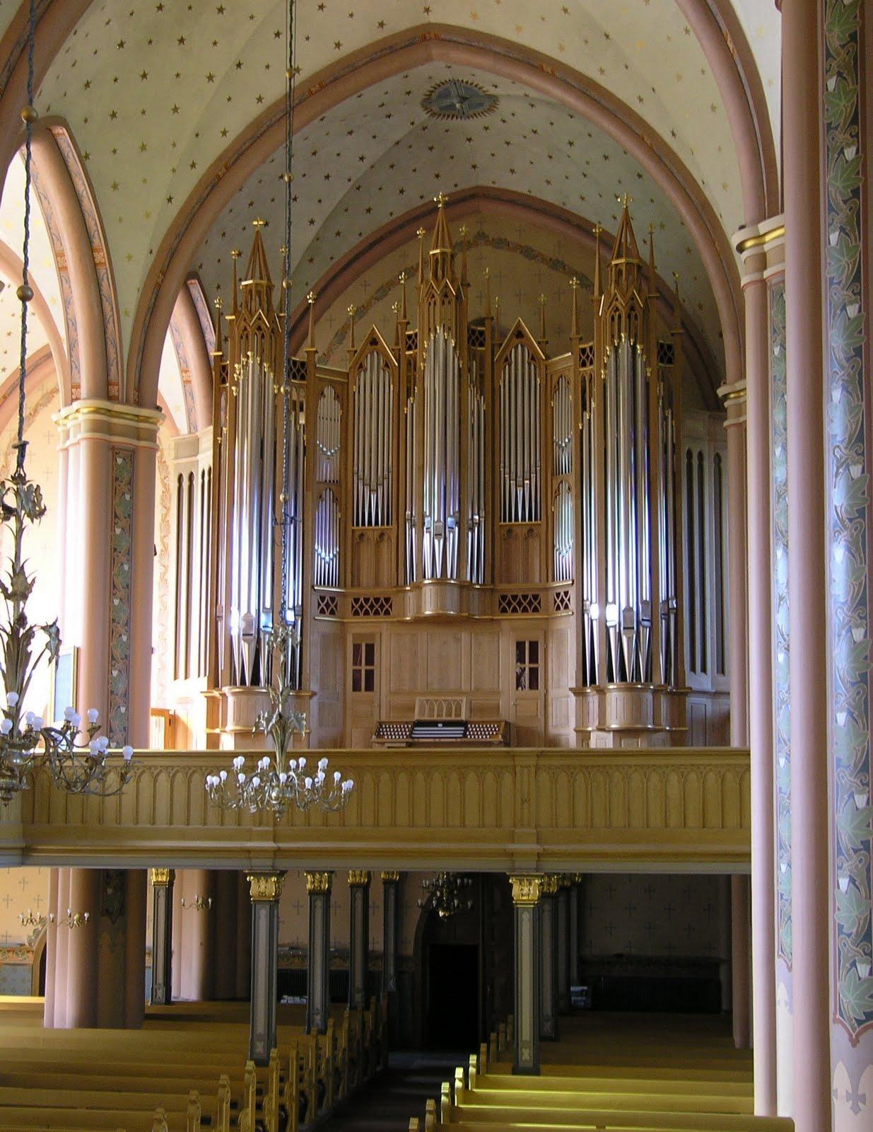 PIPE ORGANS: Great Paschen Organ in Central Pori Church ...