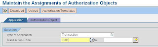 Objetos de cada transacción en SAP