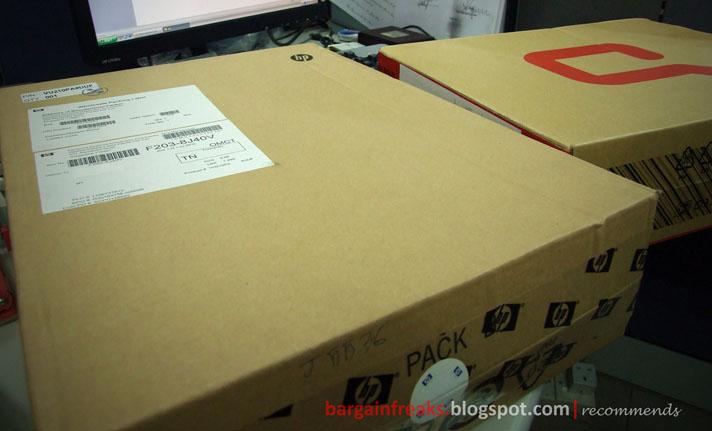 bargainfreaks|blogspot: Unboxing Compaq Presario CQ42-203ax