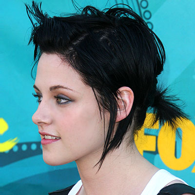 kristen stewart short hair hairstyles show up