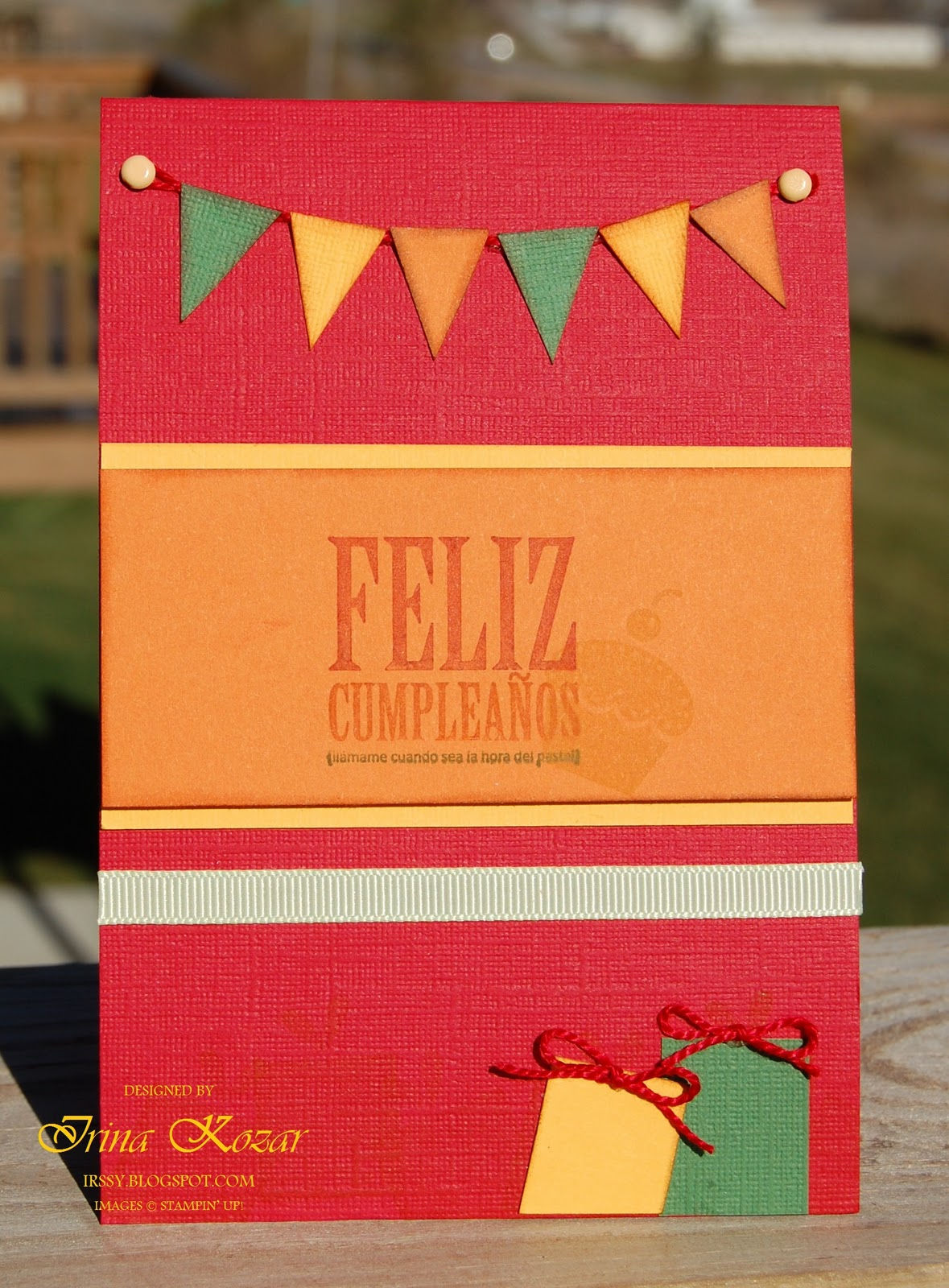 Happy balloons happy birthday cards happy b day happy birthday to you birthday birthday wishes greetings happy birthday banners feliz birthday stickers. Stampin' with Irina: Feliz Cumpleaños Card