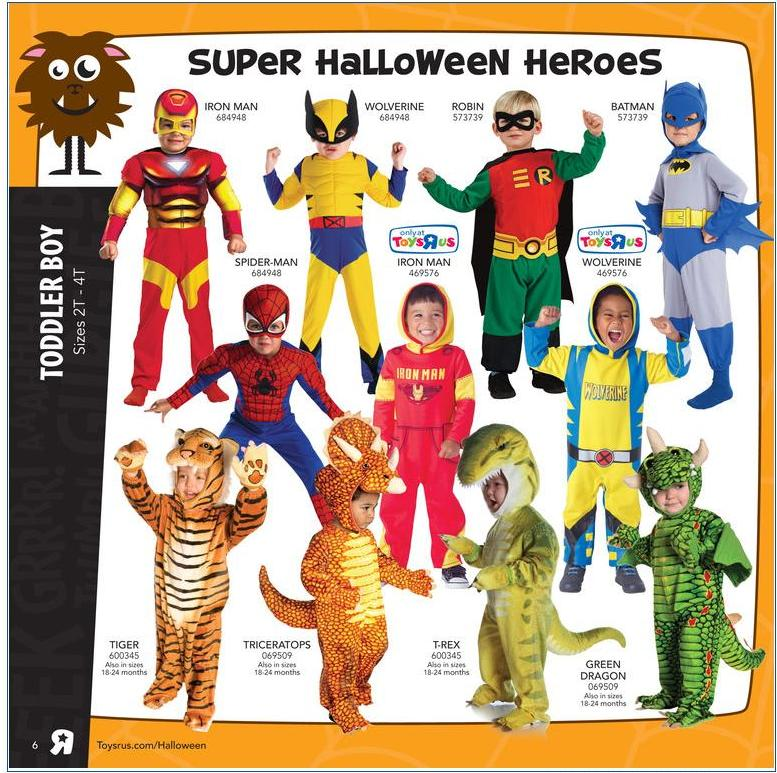 Toys Are Us Catalog : The ghosts of halloweens past toys r us halloween catalog