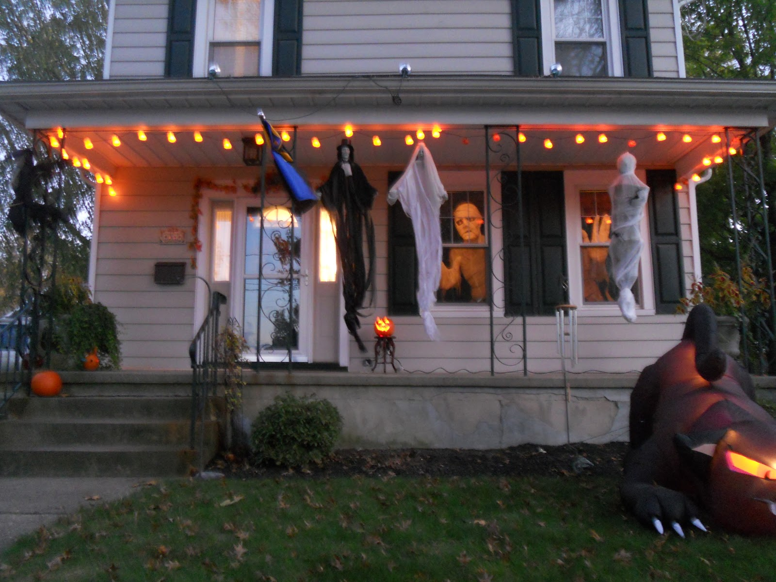 Our Halloween Decorations
