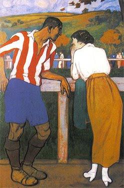 Arurelio Arteta ídilio en los campos de Sport.