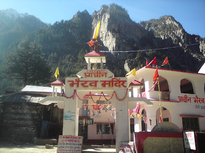 The Bhairon Temple at Bhaironghati - Enroute to Gangotri
