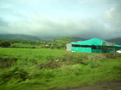 On the way to Trimbakshwar from Nashik